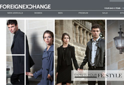 Foreign Exchange Clothing Retailer